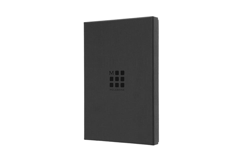 """Moleskine Leather Notebook, Large, Ruled, Hard Cover, Moss Green, Boxed Edition (5 X 8.25"""") (Special). Moleskine."""