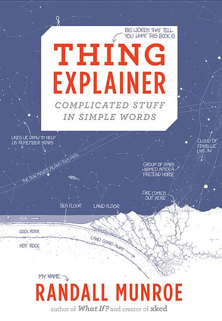 Thing Explainer: Complicated Stuff in Simple Words. Randall Munroe