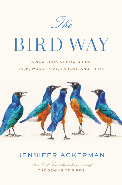 The Bird Way: A New Look at How Birds Talk, Work, Play, Parent, and Think. Jennifer Ackerman