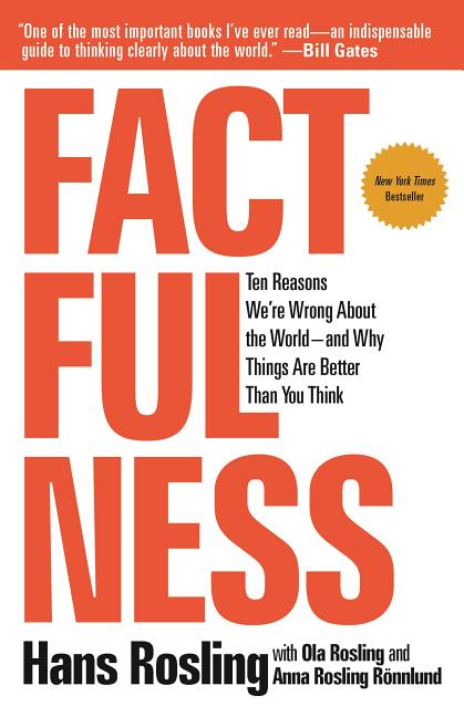 Factfulness: Ten Reasons We're Wrong about the World--And Why Things Are Better Than You Think....
