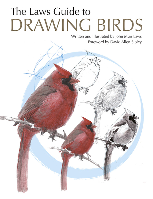 The Laws Guide to Drawing Birds. John Muir Laws