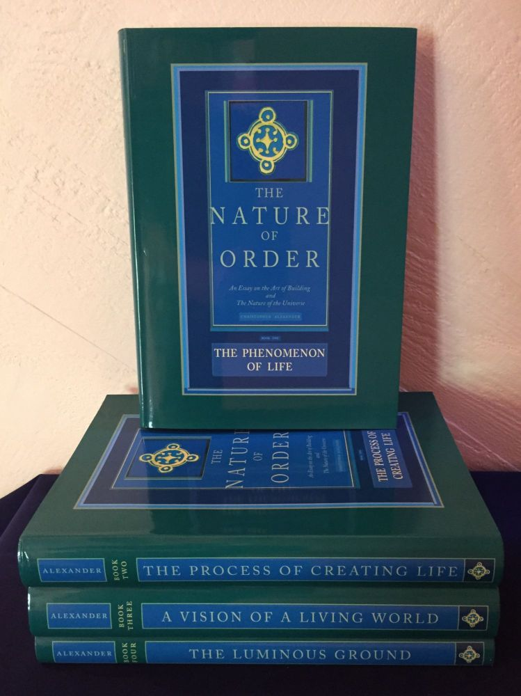 The Nature of Order: An Essay on the Art of Building and the Nature of the Universe. 4 Volume Set. Christopher Alexander.