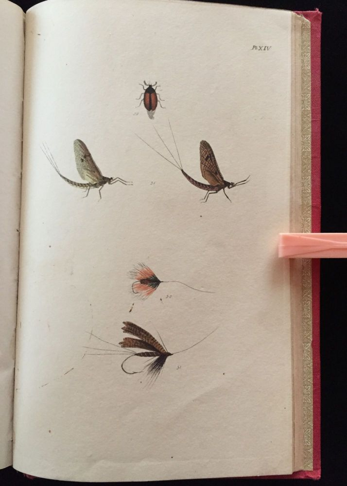 The Fly-Fisher's Entomology. Illustrated by Coloured Representations of the Natural and Artificial Insect. And Accompanied by A Few Observations and Instructions Relative to Trout-and-Grayling Fishing. Alfred Ronalds.