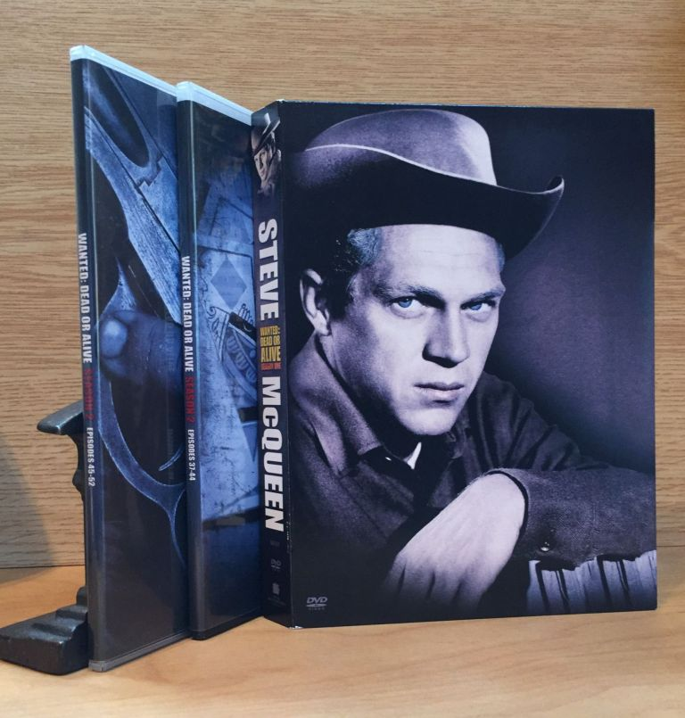 Wanted: Dead or Alive (Television Series, Complete First Two Seasons Starring Steve McQueen). Steve McQueen, Lead Actor.