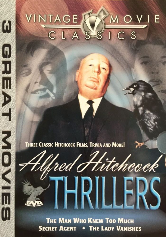 Alfred Hitchcock Thrillers: The Man Who Knew Too Much / Secret Agent / The Lady Vanishes. Alfred Hitchcock.