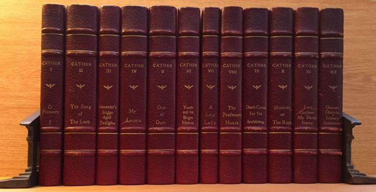 The Novels and Stories of Willa Cather: Autograph Edition. Willa Cather.