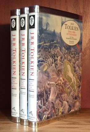 The Lord of the Rings: The Fellowship of the Ring; The Two Towers; and The Return of the King. 3 Volume Set. J. R. R. Tolkien.