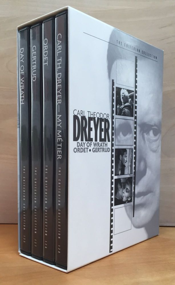 The Criterion Collection Carl Theodor Dreyer: Day of Wrath / Gertrud / Ordet / Carl Th. Dreyer - My Metier. 4 Disc Set. Carl Theodor Dreyer.