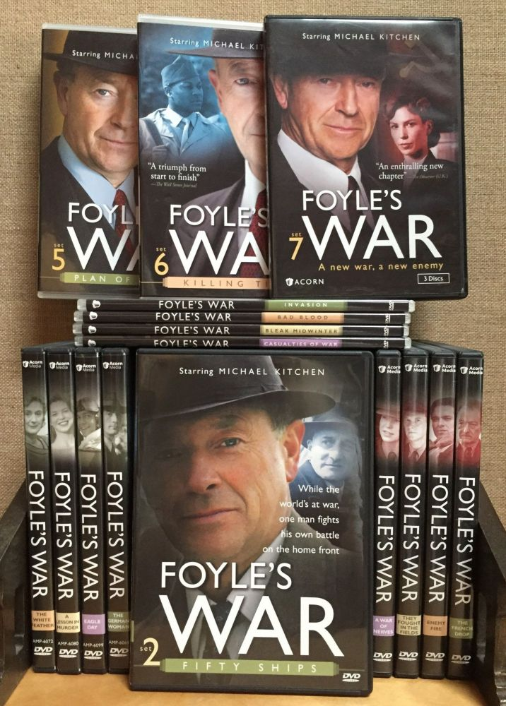 Foyle's War - PBS Mystery (First Seven Seasons Complete in 25 DVDs). Writer, Creator, Anthony Horowitz, Michael Kitchen, Actor.
