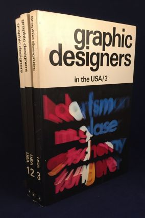 Graphic Designers in the USA / 1, 2 & 3 - 3 Volume Set. Lubalin Danziger, Chermayeff, Blechman,...