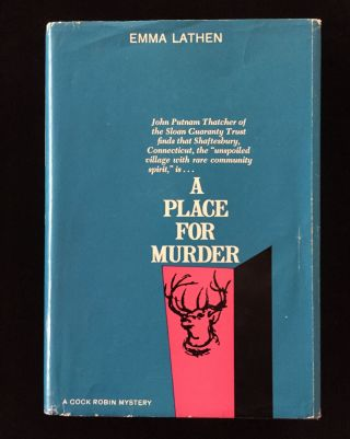 A Place for Murder. Emma Lathen