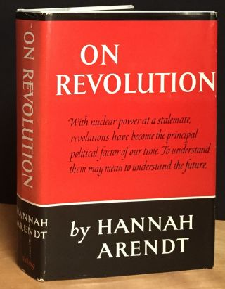 On Revolution. Hannah Arendt