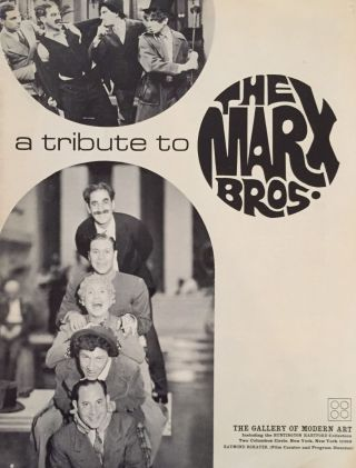 A Tribute to the Marx Bros. Raymond Rohauer