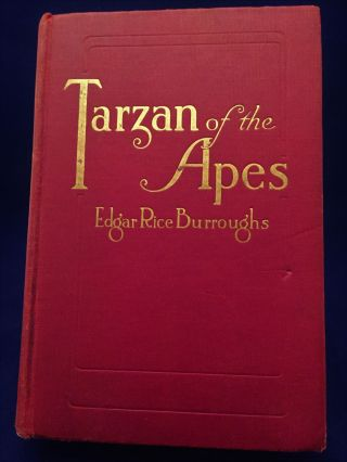Tarzan of the Apes. Edgar Rice Burroughs