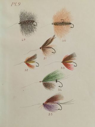 The Fly Maker's Hand-Book Illustrated with Coloured Plates, Representing Upwards of Fifty of the Most Useful Artificial Flies for Trout and Grayling Fishing