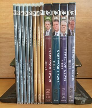 Inspector Lewis - 21 DVDs in 13 box set. Colin Dexter, Inspired