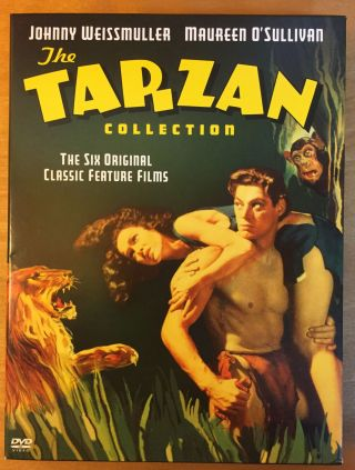 The Tarzan Collection: The Six Original Classic Feature Films. Edgar Rice Burroughs