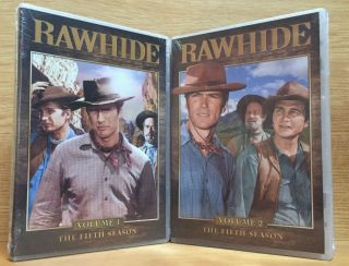Rawhide: Fifth Season, Volumes 1 & 2. Charles Marquis Warren, Ben Brady, Creator, Executive Producer