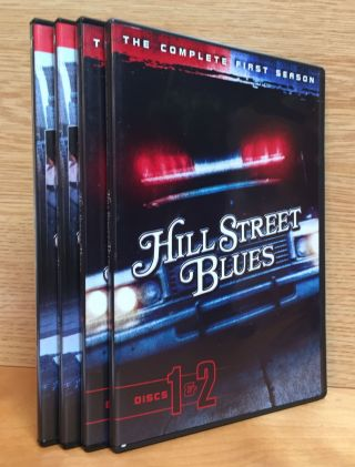 Hill Street Blues: Complete First and Second Seasons. Creator, Co-writer, Steven Bochco, Michael...