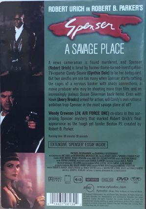 Spenser (Collection of Four Movies Starring Robert Urich in the Title Role)