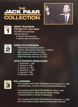 The Jack Paar Collection: Featuring the PBS Documentary Smart Television: The Best of Jack Paar & Two Bonus Discs