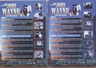 The Ultimate John Wayne Film Collection (23 Movies on 7 Discs)