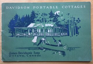 Davidson Portable Cottages. James Davidson's Sons