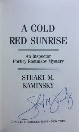 A Cold Red Sunrise: An Inspector Rostnikov Mystery