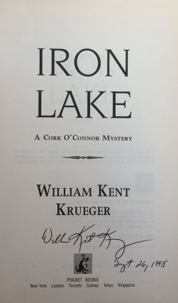Iron Lake: A Cork O'Connor Mystery (#1 in Series)