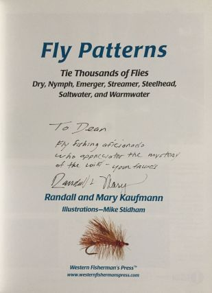 Fly Patterns: Tie Thousands of Flies - Dry, Nymph, Emerger, Streamer, Steelhead, Saltwater, and Warmwater