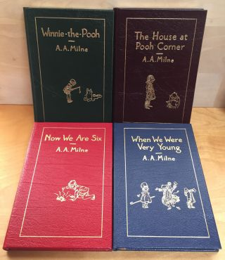Winnie-the-Pooh / The House at Pooh Corner / When We Were Very Young / Now We Are Six