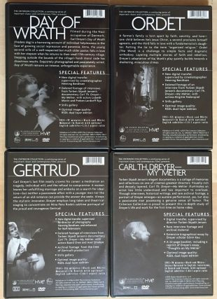 The Criterion Collection Carl Theodor Dreyer: Day of Wrath / Gertrud / Ordet / Carl Th. Dreyer - My Metier. 4 Disc Set