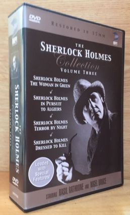 The Sherlock Holmes Collection, Volume Three: The Woman in Green; Pursuit to Algiers; Terror By...