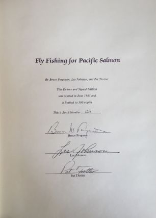 Fly Fishing for Pacific Salmon