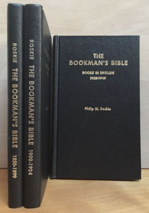 The Booksman's Bible: A Coded Guide to the Pricing of Antiquarian Books - Books in English, 3...