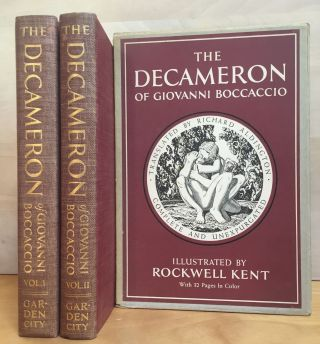 The Decameron of Giovanni Boccaccio. Giovanni Boccaccio, Richard Aldington, Rockwell Kent